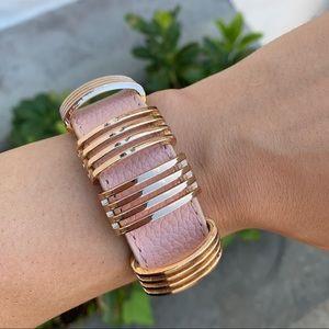 Blush Pink Snap Bracelet